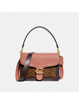 Tabby Shoulder Bag In Colorblock With Snakeskin Detail by Coach