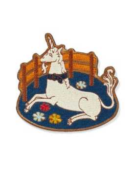Unicorn In Captivity Patch by The Metropolitan Museum Of Art