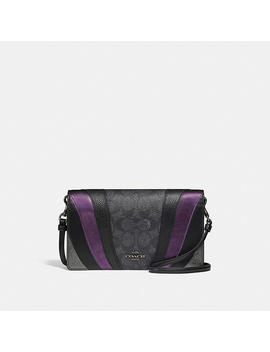 hayden-foldover-crossbody-clutch-in-signature-canvas-with-wave-patchwork by coach