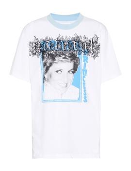 princess-diana-cotton-t-shirt by off-white