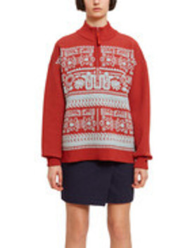 Jacquard Aztec Sweater by Opening Ceremony