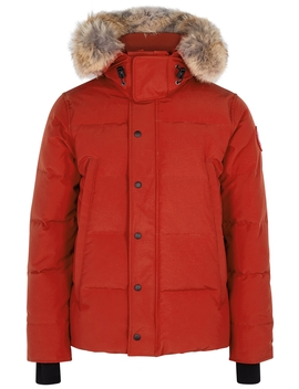 wyndham-fusion-fit-red-arctic-tech-parka by canada-goose