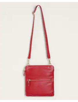 pursen-red-littcrossbody-bag by chicos