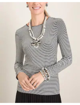 striped-essential-layer-top by chicos