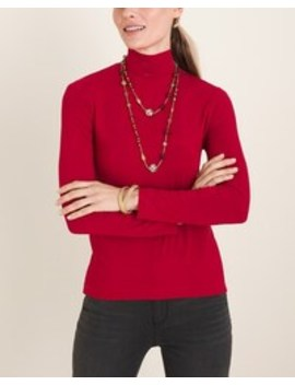 long-sleeve-mock-neck-top by chicos