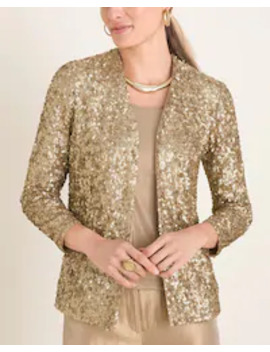 sequined-jacket by travelers-collection