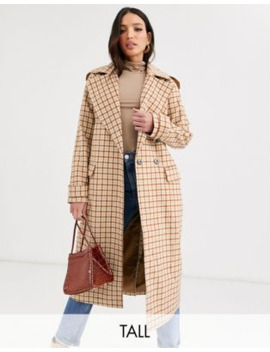 glamorous-tall-double-breasted-coat by glamorous