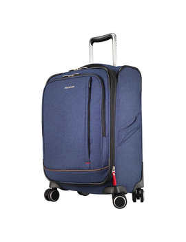 "Ricardo Camden Drive 22"" Expandable Softside Carry On Spinner Luggage With Packing Cubes by Ricardo Luggage"