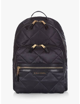tiba-+-marl-ellwood-backpack-changing-bag,-black-quilt by tiba-+-marl