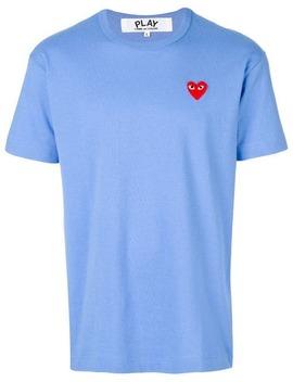 t-shirt-met-korte-mouwen-en-logo by comme-des-garçons-play
