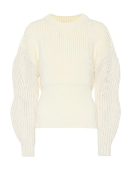 wool-and-silk-blend-sweater by chloé