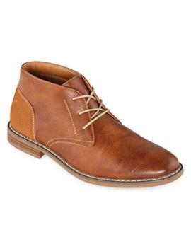 arizona-gleeson-chukka-flat-heel-mens-boots by arizona