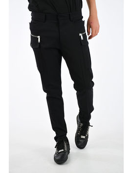 virgin-wool-hockney-fit-pants by dsquared2