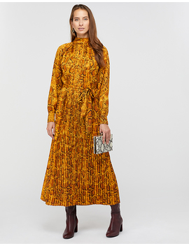 Jules Snake Print Trapeze Dress by Monsoon