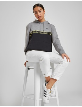 fred-perry-tape-panel-hoodie by jd-sports