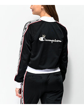 champion-black-&-white-taping-track-jacket by champion