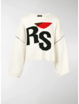 Branded Chunky Jumper by Raf Simons