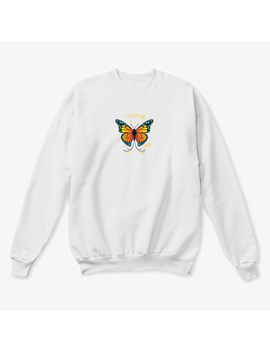 butterfly:-dark---large by teespring