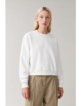 boxy-cotton-sweatshirt by cos