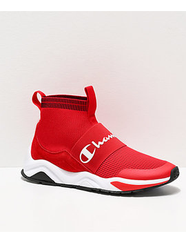 champion-rally-pro-red-shoes by champion