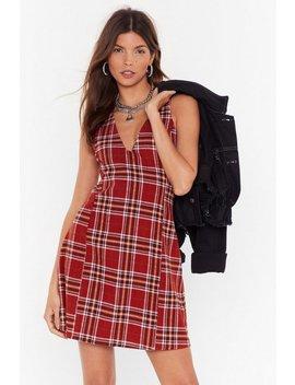 v-you-soon-check-mini-dress by nasty-gal