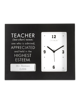 teacher-motivational-clock by things-remembered