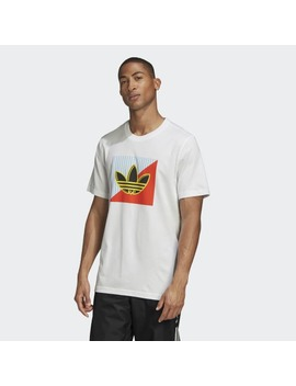Diagonal Logo T Shirt by Adidas
