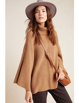 kali-poncho-sweater by anthropologie