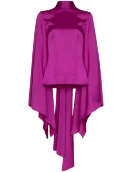 ali-draped-wide-sleeve-blouse by solace-london