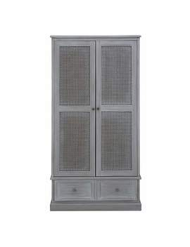 Lucy Cane Grey Gents Wardrobe by Dunelm