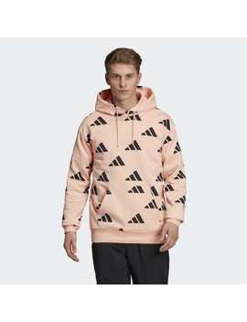 Adidas Athletics Pack Allover Hoodie by Adidas