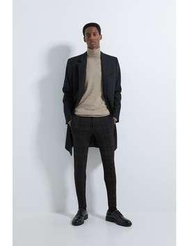 super-skinny-check-trousers by zara