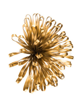 Gold Flower Burst Metal Wall Decor by Hobby Lobby