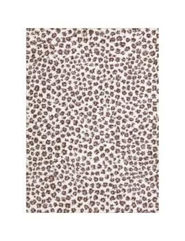 shaggy-turkish-carpet-polyester-&-jute-leopard-print-design-area-rug---9-2-x-6-6---beige by generic