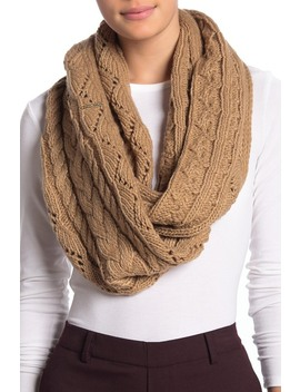 pointelle-cable-knit-infinity-scarf by michael-michael-kors