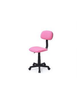 hodedah-armless,-adjustable,-swiveling-kids-desk-chair,-pink by hodedah