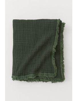 bawełniany-koc by h&m