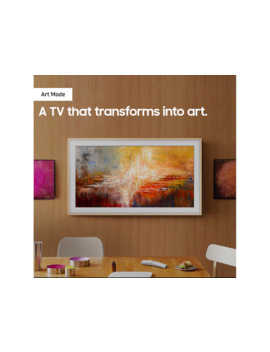 """65"""" Class The Frame Qled Smart 4 K Uhd Tv (2019) by Samsung"""
