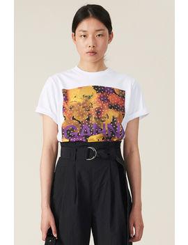 Basic Cotton Jersey T Shirt by Ganni