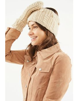 pom-knit-earwarmer-headband by urban-outfitters