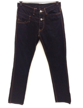 final-home-double-waist-denim-pant by issey-miyake  ×  final-home  ×