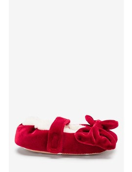 red-ballet-bow-slippers-(younger) by next