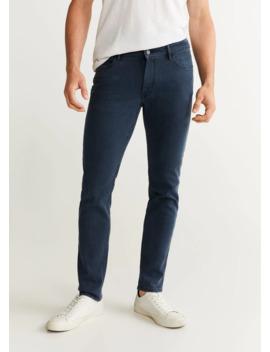 jeans-patrick-slim-fit-azul-marino by mango