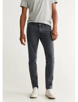 jeans-patrick-slim-fit-grises by mango