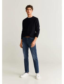 jeans-jan-slim-fit-negro-azulado by mango