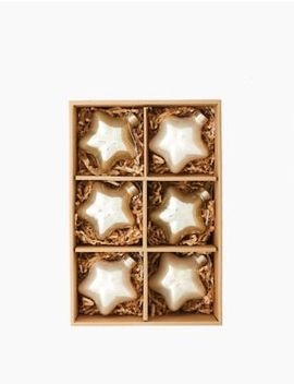 6-pack-glass-metallic-star-decorations by marks-&-spencer