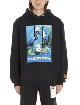 heron-preston-graphic-logo-print-hoodie by heron-prestonheron-preston