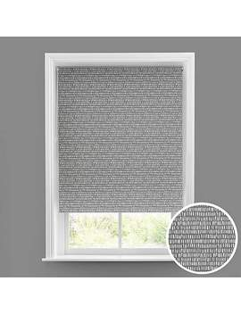 Durban Grey Blackout Roller Blind by Dunelm