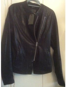 all-saints-leather-jacket-size-12-new-wth-tags-black-soft-leathersee-descriptio by allsaints