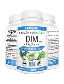 smokey-mountain-naturals-dim-+-bioperine-capsules,-200-mg,-60-ct by smoky-mountain-naturals